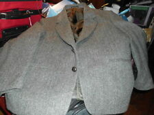 Tweed Vintage Outerwear Coats & Jackets for Men
