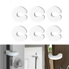 6pcs Baby Safety Stop Door Finger Pinch Guard Lock Jammer Stopper Protector