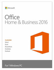 Microsoft Office Home and Business 2016 inkl. DVD  Deutsch / Multilingual