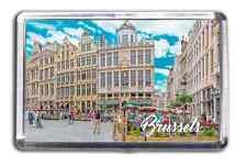 Brussels Famous City Fridge Magnet Collectable Design Souvenir