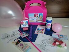 Shimmer and Shine pre-filled. personalised party/gift favour box