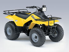 SUZUKI LT-F160 QuadRunner  ATV Service and Parts Manual CD