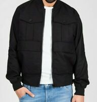 G-STAR RAW Rackam Army Bomber NWT Size S Water Repellent Dark Black RRP$300