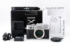 Fujifilm X-T10 Mirrorless Digital Camera Silver Body w/Box