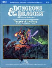 Temple Of The Frog Da2 Exc! Tsr 9175 Dungeons & Dragons Ad&D D&D