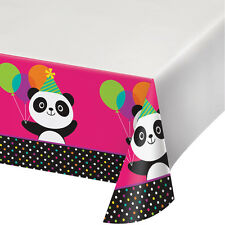 Panda-monium Tablecover Panda Bear Birthday Party Table Decoration Supplies