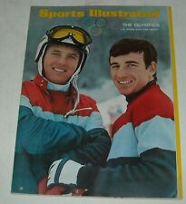 2/5 1968 SPORTS ILLUSTRATED MAGAZINE OLYMPICS US SKIERS BILLY KIDD JIMMY HEUGA