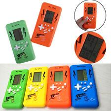 Fun Brick Game Classic Tetris Handheld LCD Electronic Game Toys Game Cons_T1