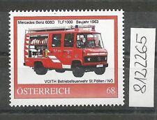 Österreich PM personalisierte Marke Feuerwehr Mercedes BENZ 608 D **