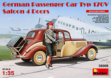 MiniArt German Passenger Car Typ 170V Saloon 4 Doors Bausatz 1:35 Kit Art. 38008