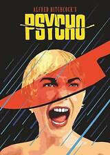 New! Hitchcock's Psycho DVD Pop Art Cover Classic Horror Janet Leigh Perkins