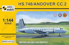 Mark I Models 1/144 Model Kit 144120 Hawker-Siddeley HS.748 Andover RAF RAE Belg