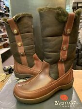 Blondo Canada Women's Mountain Winter Boots  brown with shearling lining