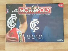 Monopoly Carlton 2008 Charity Edition AFL - New