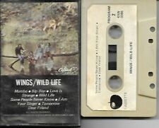 Wings (McCartney) - Wild Life - RARE Original Apple Cassette Canada Paper Labels