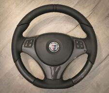 Carbon fiber leather steering wheel for BMW E90 E91 E92 E93 E87 E84 Alpina D3 B3