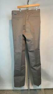 NWT Red Kap PT10GG Pants Men's Industrial Work Uniform Clothes Silver (U15)