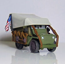 Disney Pixar Movie Cars Diecast Old Timer Sarge With US Flag Toy Car