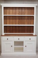 Hand Made Welsh Dresser painted in Fallow&Ball Wimbourne White