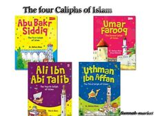 The four Caliphs of Islam -islamic books for kids (4 books)