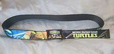 Tmnt Children's Buckle Down Belt - Black Teenage Mutant Ninja Turtles-Length 38�