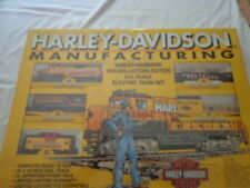 "COMPLETE READY-TO-RUN HO TRAIN SET1994 HARLEY-DAVIDSON""MANUFACTURING"""