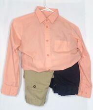 COMBO-1 George Dress Shirt & 2 Pair of George Pants (10 Slim), Boys Size 10-12