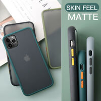 Case For iPhone 12 11 Pro Max 6 7 8 Plus XS XR Shockproof Hard Matte Clear Cover