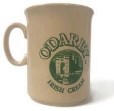 VTG O'Darby Irish Cream Coffee Mug County Cork Ireland Made in England {A103}