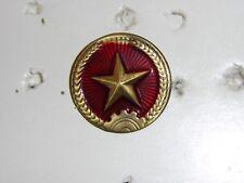 B9794 North Vietnam Army NVA  Pith Helmet Badge original R14D