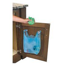 Jokari Cabinet Door Mount Trash Bag Hanging Hooks