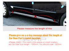 Door Line Side Skirt Sill Trim Chrome Cover Molding Garnish 4Pcs for HONDA Car