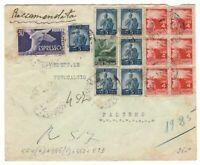 s23332) ITALIA 1.1.1949 Racc. Espresso Messina Palermo - Democratica + E