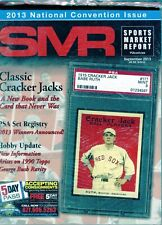 SEPTEMBER 2013 BABE RUTH COVER SMR PSA SPORTS MARKET REPORT PRICE GUIDE  MINT