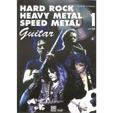 Hard Rock Heavy Metal Speed Metal Guitar für Gitarre mit Tabulatur (+CD) 20984-2