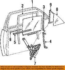Rear Door-Window Sweep Belt Molding Weatherstrip 1267350265