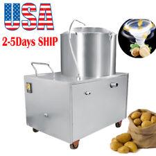 USA! Commercial Potato Peeler Auto Sweet Potato Peeling&Cleaning Washing Machine