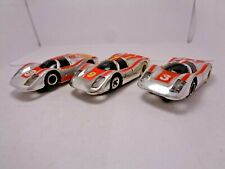 TYCOPRO PORSCHE 908 lot, # 3, 9, 51 HO Slot Car