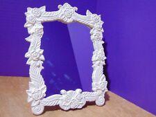 2000 Avon Gift Collection Vintage Vanity Mirror White Roses NIB