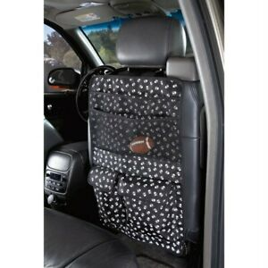 Cruising Companion Car Seat Pet Organizer, Skull Cross Bones Pattern