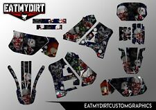 YAMAHA DTR 125 1988 - 2004 Full Graphics Kit decals Motocross Stickers MX