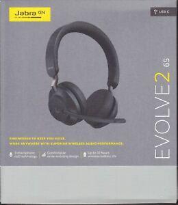 Jabra Evolve2 65 USB-C Headset schwarz