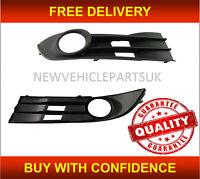 Vw Touran 2007-2011 Front Bumper Fog Grille With Fog Hole Driver Side UK Seller