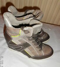 S.Oliver Lace Up Trainers Hidden Wedge Ankle Boots Size UK 3 EU 36