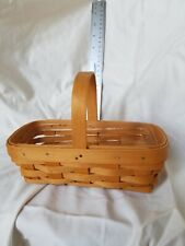 New ListingLongaberger Basket 2000 American Cancer Society. Plastic liner.