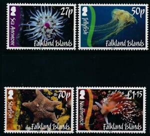 Falkland Islands 2012 Marine Life SG 1207-1210 MNH