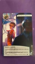Netrunner Political Operative Alt Art Promo Card