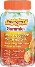 Emergen-C Gummies 45 ct -Immune Support Vitamin C Orange, Tangerine, & Raspberry