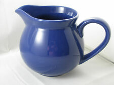 Royal Blue Pitcher 36oz Waechtersbach German Stoneware New