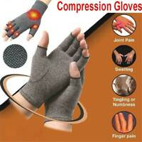 Compression Arthritis Gloves Pain Relief Wrist Support Hand Palm Brace Therapy